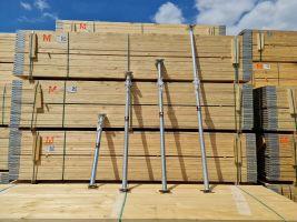 Acrow Adjustable Floor Prop - Size 0-3 Zinc Plated