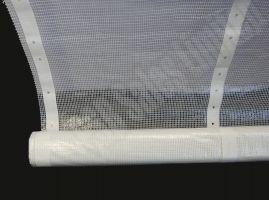 Monarflex Scaffold Sheeting 2m x 45m + 100 Toggle Ties