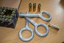 M16 Galvanised Steel Ring Bolt