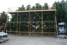 Used Kwikstage 80' x 16' Kit With New Timber Battens